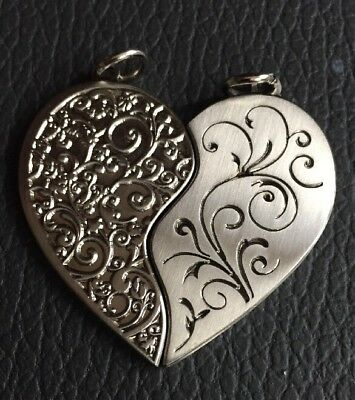 Two Hearts In Love Geocoin - Silber - Neu - Inkl. 2 Codes