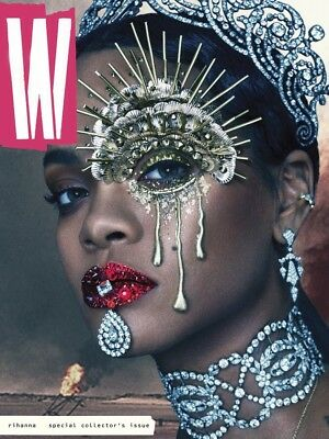W Magazine September 2016 - Rihanna