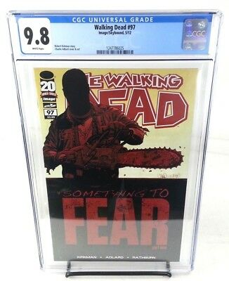 The Walking Dead #97 CGC 9.8 Something To Fear Part 1