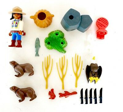 FORET X372 Grizzly Ours Kodiak Marron 3830 7225 4057 PLAYMOBIL