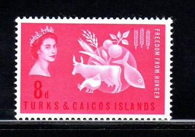 Turks & Caicos Islands #138  1963  Freedom From Hunger     Mint  Vf Nh  O.g