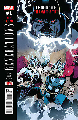 GENERATIONS: THE UNWORTHY THOR & THE MIGHTY THOR #1,  Marvel, 2017