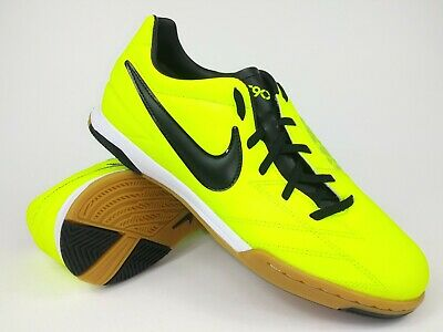 5c177eeea29 Nike Mens Rare T90 Shoot IV IC 472558-703 Green Indoor Soccer Shoes Size 10