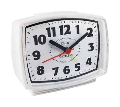 WESTCLOX NYL22192, Electric Alarm Clock with Constant Lighted Dial