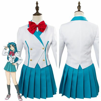 Anime Costumes Invisible Victory Teletha Cosplay Costume Uniform Dress Full Metal Panic