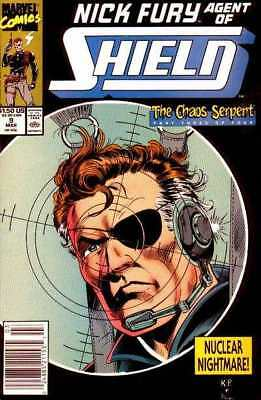 Nick Fury: Agent of SHIELD (1989 series) #9 in NM minus condition. Marvel comics