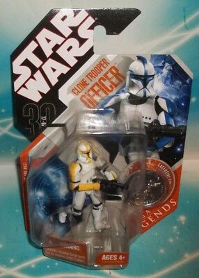 Star Wars Tac 30Th Anniversary Saga Legends Sl Clone Trooper Officer Figure