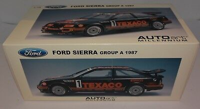 AUTOart 1/18 FORD SIERRA GROUP A RS 1987 TEXACO #1 Sealed Diecast LHD MIB