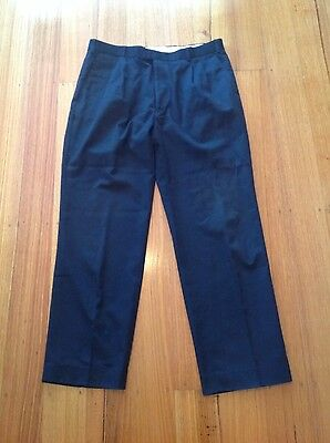 Men's Navy Blue Trousers, 92 Waist, In Very Good Condition
