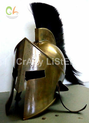 300 Movie Spartan King Leonidas Medieval Roman Helmet Greek Renanctment