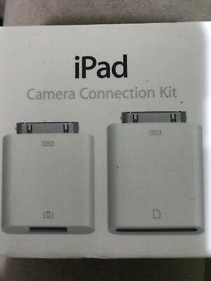Apple iPad Camera Connection Kit - Genuine for IPad 2 or IPhone 4