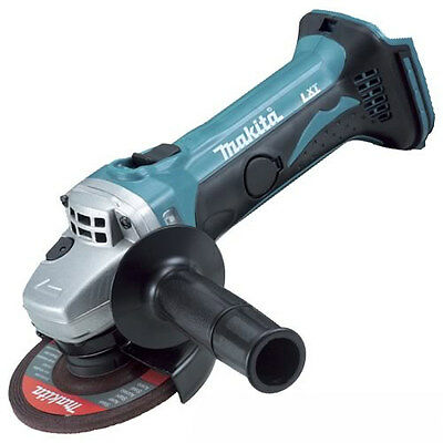 "Makita Angle Grinder 18V Li-Ion Cordless 4-1/2"" (115mm) Skin Only DGA452Z New"