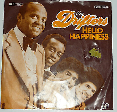 """The Drifters: Hello Happiness ,   7"""" Single"""