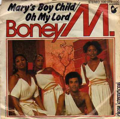 """Boney M.- Mary's Boy Child-Oh My Lord/ Dancing In The Streets, 7""""Vinyl Single"""