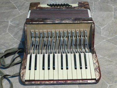 PROJECT historisches Akkordeon ACCORDION 25/32 accordian Klingenthal Germany