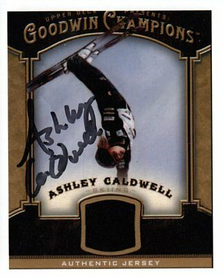 Ashley Caldwell (USA) 1.WM Freestyle 2017 Sierra Nevada original signed !!!