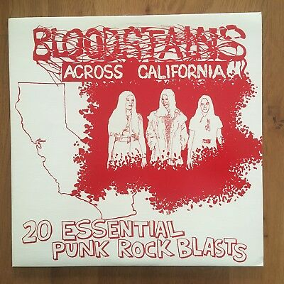Various ‎– Bloodstains Across California - Bloodstains ‎– BLO-02 - Mint/NM
