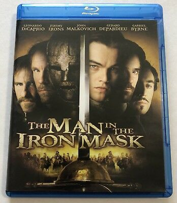 The Man in the Iron Mask (Blu-ray Disc, 2012) Canadian