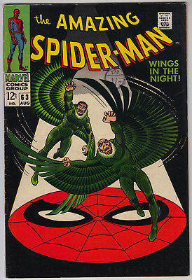 AMAZING SPIDER-MAN #63 VG/FN (5.0) Cents