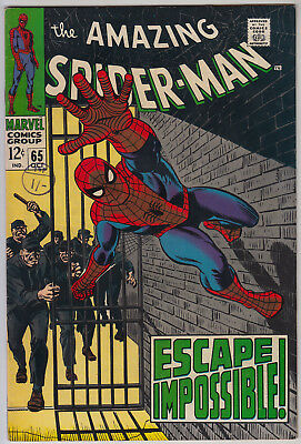 AMAZING SPIDER-MAN #65 fn (6.0) Cents