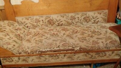 antique fainting couch circa 1880-1899 folds out to bed
