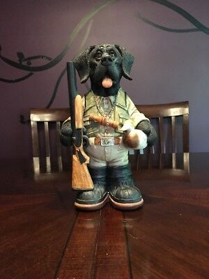 Ducks Unlimited Whimsical Boomer 2007/2008 Exclusive used black lab