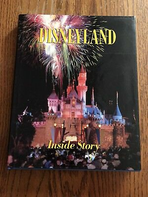 Disneyland Inside Story Book By Randy Bright