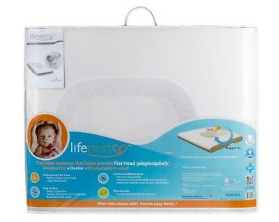 NEW UbiMED LifeNest Sleep System White GreenGuard Gold Certified + Fitted Sheets