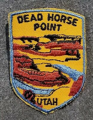LMH Patch DEAD HORSE POINT State Park UTAH Colorado River Canyonlands National