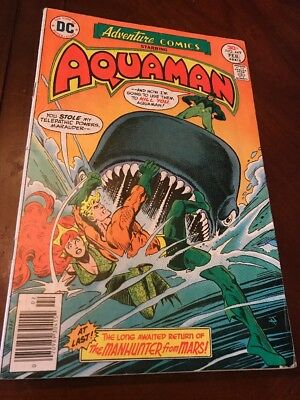 #449 ADVENTURE COMICS Starring AQUAMAN - DC 1977 A