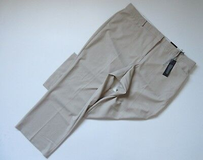 NWT Lane Bryant LENA in Beige 3T Tighter Tummy Tailored Stretch Trouser Pants 22