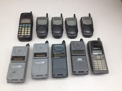 Lot of 10 Vintage Assorted Cell Phones AS IS | PH542