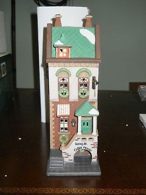 DEPT 56 SPRING STREET COFFEE HOUSE Christmas in the City NIB Retired 2004 58807