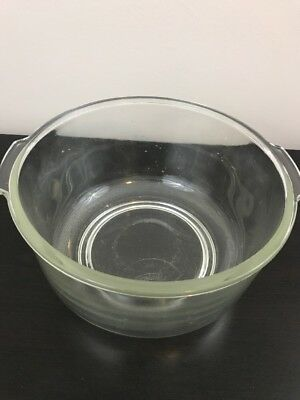 Vtg Large Glass Mixing Bowl for Oster Kitchen Center or Sunbeam Mixmaster Mixer