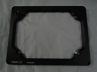 THORLABS 96-Hole Well Multiwell Plate Nikon Microscope Stage Adapter MLS203P1