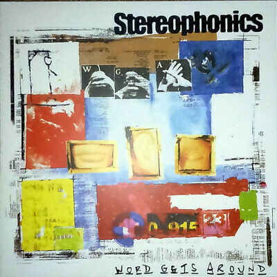 Stereophonics Word Gets Around reissue vinyl LP gatefold NEW/SEALED