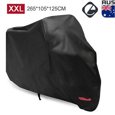 XXL Waterproof Motorcycle Cover Outdoor 210D Oxford Protection for Honda Yamaha
