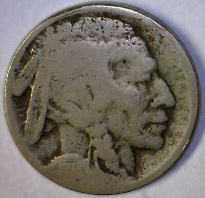 1914s Buffalo Nickel Coin w/ Readable Date ~ Estate Sale Find LOT #1  NO RESERVE