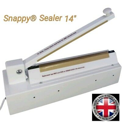 "Snappy® Sealer 14"",  Bakery Deli, food sealer Heat Seal bag Bags Sealer BA008"