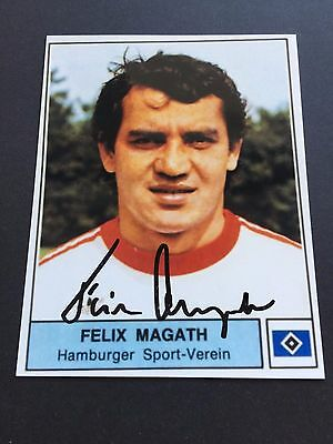 FELIX MAGATH HSV DFB In-person signed Photo 10x13 Autogramm