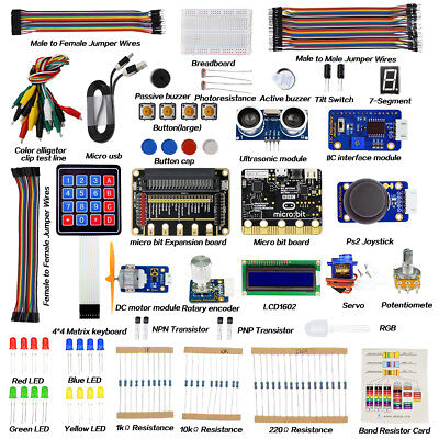 Adeept BBC Micro:bit Starter Kit Electronic Kit for Micro:bit with Tutorial