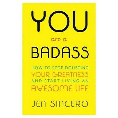 (AUDIOBOOK + PDF) You Are a Badass How to Stop Doubting - Jen Sincero (DIGITAL)