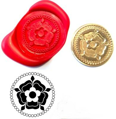 English Tudor Rose Wax Stamp Seal Starter Kit or Buy Coin Design XWS039B/XWSC095