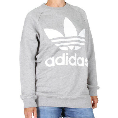 ADIDAS OVERSIZE SWEATSHIRT Grey Heather Damen Pullover