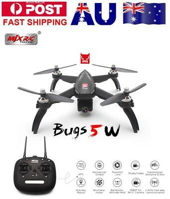 MJX Bugs 5W B5W 1080P 5G Wifi Camera GPS Drone Quadcopter RC Drone+1/2/3 Battery