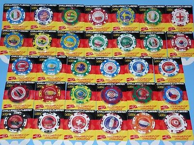 FIFA World Cup 2006 Germany Coca Cola Key Chain Complete Set (32 Countries)