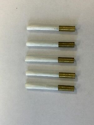 Fibre Glass Scratch Pen Pencil Brush Refills Free P&P