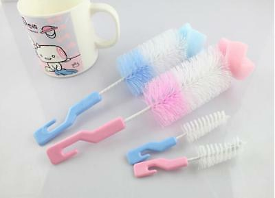 Baby Kids Bottle Brush Wash Nipple Brush Tool Cleaning Kit Baby Products 6L