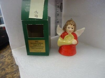 Goebel Angel Bell Ornament 1982 Red #2
