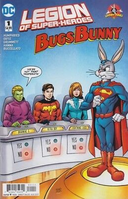 Legion of Super-Heroes Bugs Bunny #1!!